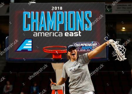 Editorial picture of AEast Hartford Maine Basketball, Bangor, USA - 09 Mar 2018
