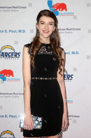 Editorial picture of American Red Cross Humanitarian Celebration, Los Angeles, USA - 09 Mar 2018