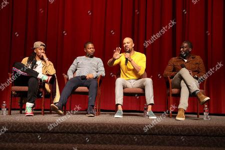 Lena Waithe, Creator/Writer/Executive Producer, Jason Mitchell, Common, Actor/Executive Producer, and Rick Famuyiwa, Director/Executive Producer,