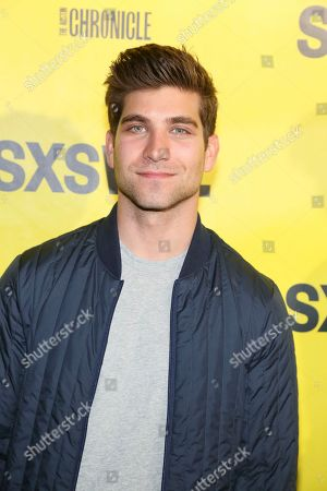 """Producers David Bernon arrives for the world premiere screening of """"Support the Girls"""" during the South by Southwest Film Festival at the Zach Theatre, in Austin, Texas"""