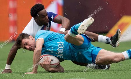 Editorial photo of World Rugby Sevens Series, VANCOUVER, Canada - 10 Mar 2018