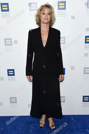 Teri Polo attends the 2018 Human Rights Campaign Los Angeles Dinner at the JW Marriott L.A. Live, in Los Angeles