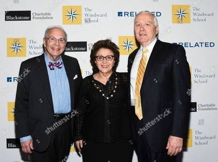 Bennett Shaywitz, Sally Shaywitz, John J. Russell. Dr. John J. Russell, right, Head of The Windward School, poses with honorees Drs. Sally and Bennett Shaywitz at The Windward School Benefit, in New York. The School honored Drs. Sally and Bennett Shaywitz along with Anderson Cooper and Christine and Stephen A. Schwarzman for their contributions and advocacy towards educating students with dyslexia and language-based learning disabilities