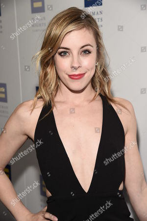 Olympian Ashley Wagner seen at the 2018 Human Rights Campaign Los Angeles Dinner at JW Marriott L.A. Live, in Los Angeles