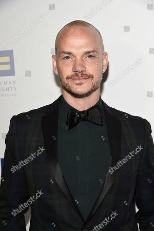 Producer Peter Paige seen at the 2018 Human Rights Campaign Los Angeles Dinner at JW Marriott L.A. Live, in Los Angeles