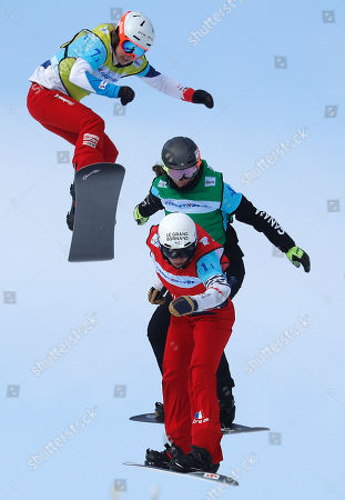 Editorial picture of FIS Snowboard World Cup 2018 in Moscow, Russian Federation - 11 Mar 2018