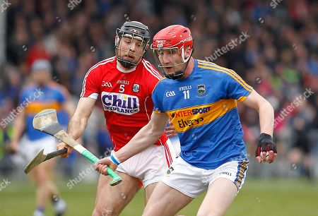 Tipperary vs Cork. Tipperary's Billy McCarthy with Christopher Joyce of Cork