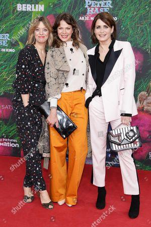 Heike Makatsch, Jessica Schwarz and Anja Kling