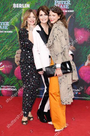 Heike Makatsch, Anja Kling and Jessica Schwarz