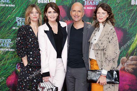 Heike Makatsch, Anja Kling, Christoph Maria Herbst and Jessica Schwarz