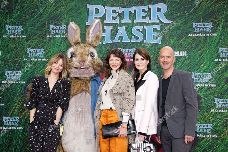 Heike Makatsch, Jessica Schwarz, Anja Kling and Christoph Maria Herbst