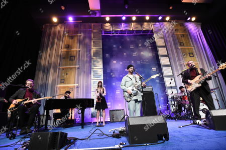 Grammy award winning band Portugal. The Man performs at the 2018 Human Rights Campaign Los Angeles Dinner at JW Marriott L.A. Live, in Los Angeles