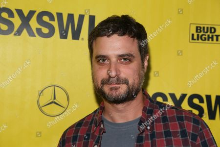 """Producer Eli Bush arrives for the world premiere of """"The Legacy of a Whitetail Deer Hunter"""" during the South by Southwest Film Festival at the Zach Theatre, in Austin, Texas"""