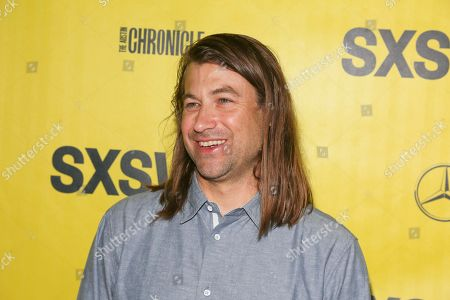 """Director Jody Hill arrives for the world premiere of """"The Legacy of a Whitetail Deer Hunter"""" during the South by Southwest Film Festival at the Zach Theatre, in Austin, Texas"""