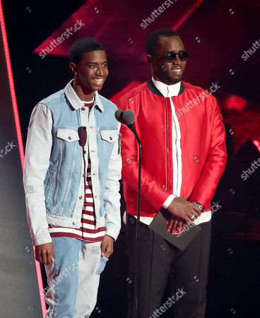 Christian Combs and Sean Combs