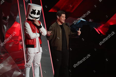 Marshmello and Adam Devine