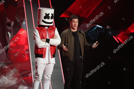 Marshmello and Adam Devine