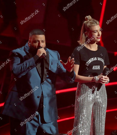 DJ Khaled and Hailey Baldwin