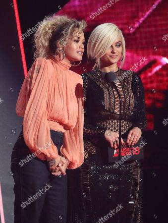 Rita Ora and Bebe Rexha