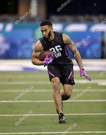 Editorial picture of NFL Combine Football, Indianapolis, USA - 05 Mar 2018