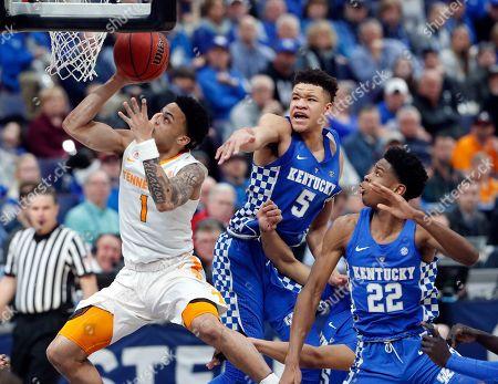 Editorial photo of SEC Kentucky Tennessee Basketball, St. Louis, USA - 11 Mar 2018
