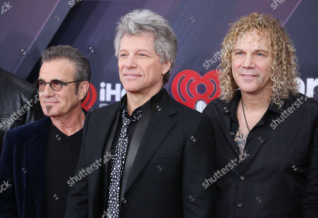 Tico Torres, Jon Bon Jovi and David Bryan