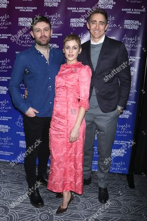 James McArdle, Denise Gough and Lee Pace