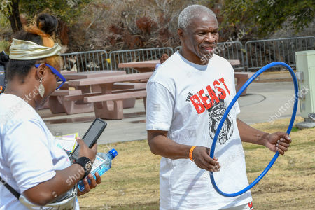 Editorial image of 4th Annual Fight 4 Fitness, Las Vegas, USA - 11 Mar 2018
