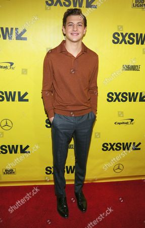 "Tye Sheridan arrives for the world premiere of ""Ready Player One"" during the South by Southwest Film Festival at the Paramount Theatre, in Austin, Texas"