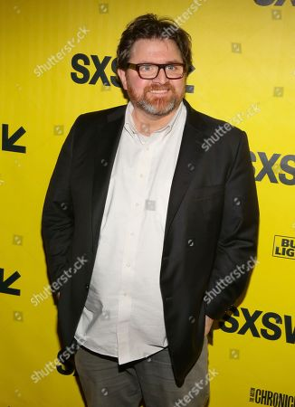 "Ernie Cline arrives for the world premiere of ""Ready Player One"" during the South by Southwest Film Festival at the Paramount Theatre, in Austin, Texas"