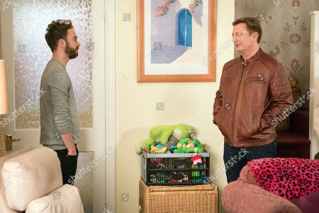 Ep 9413 Monday 26 March 2018 - 2nd Ep David Platt, as played by Jack P Shepherd, is furious to discover from Martin Platt, as played by Sean Wilson, that Josh has been speaking to him. Martin tells David that he is baffled by the rush to move and that he should take his time whilst Sarah Platt, as played by Tina O'Brien, points out that Shona Ramsey, as played by Julia Goulding, and the children don't want to move either. As they prepare to wave Martin off David reaches a decision.
