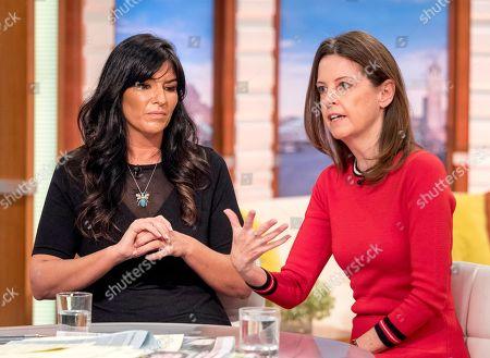Editorial image of 'Good Morning Britain' TV show, London, UK - 12 Mar 2018