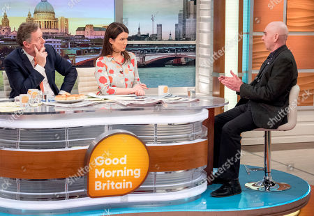 Editorial photo of 'Good Morning Britain' TV show, London, UK - 12 Mar 2018