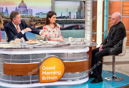 Editorial image of 'Good Morning Britain' TV show, London, UK - 12 Mar 2018