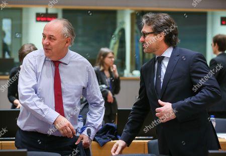 Stock Photo of Matthias Machnig and Mario Antonic
