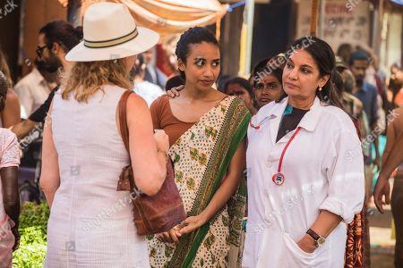 Shavani Cameron as Reya and Shabana Azmi as Anila