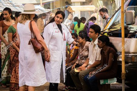 Amanda Redman as Dr Lydia Fonseca and Shabana Azmi as Anila