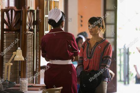 Nimmi Harasgama as Nurse Mari Rodriguez and Amrita Acharia as Dr Ruby Walker