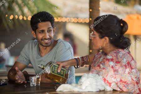 Sagar Radia as AJ Nair and Mandeep Dhillon as Mandeep Khattri