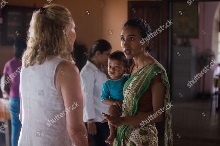 Editorial image of 'The Good Karma Hotel' TV Show, Series 2, Episode 2 UK - 2018