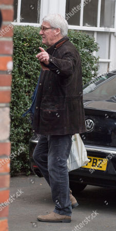 Jeremy Paxman Leaves His Notting Hill Home On Sunday.