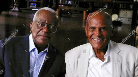 Trevor McDonald meets Harry Belafonte