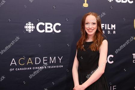 Editorial image of Canadian Screen Awards, Toronto, Canada - 11 Mar 2018