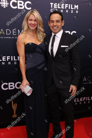 Stock Picture of Shelby Fenner, Shaun Majumder