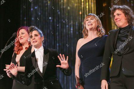 Aurora Browne, Meredith Macneill, Carolyn Taylor, Jennifer Whalen, stars of Baroness von Sketch Show, Best Performance, Sketch Comedy (Individual or Ensemble)