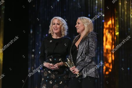 Moira Walley-Beckett, Miranda de Pencier, Producers of Best Drama Series 'Anne'.