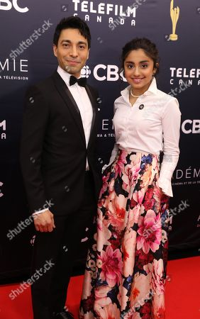 Editorial picture of Canadian Screen Awards, Toronto, Canada - 11 Mar 2018