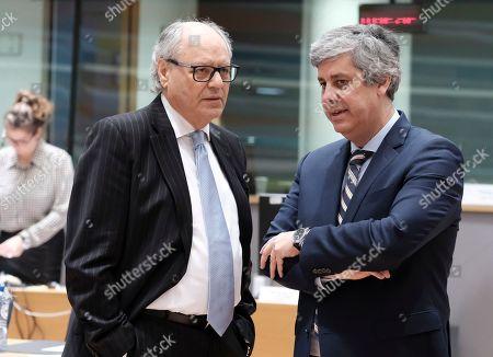 Edward Scicluna and Mario Centeno