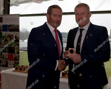 Editorial photo of Lord's Taverners Presentation, Cricket, Lord's Ground, St John's Wood, London, United Kingdom - 12 Mar 2018