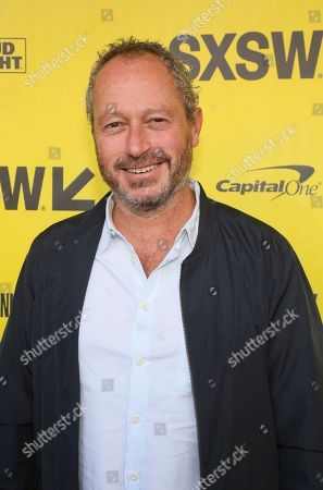"""Director Anthony Wonke arrives for the world premiere of """"The Director and The Jedi"""" during the South by Southwest Film Festival at the Paramount Theatre, in Austin, Texas"""